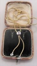 "Round 16 - 17.99"" VVS1 Fine Diamond Necklaces & Pendants"