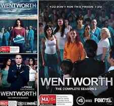 WENTWORTH Season 1, 2 & 3 : NEW DVD