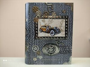 Tin book with tea, perfect gift for man