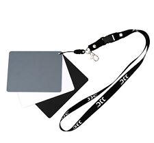 UK venditore! JJC GC-3 Gray Card (18%) per mezzo di bilanciamento del bianco 13 x 10 cm confezione da 3