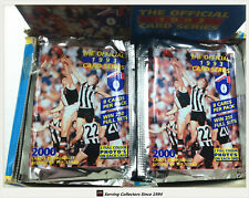 1993 Select AFL Trading Cards Sealed Loose Packs Unit of 4-packs-1st Select Card