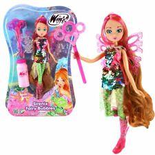 Flora | Sirenix Fairy Bubbles Puppe | Winx Club | Fee 28 cm | Seifenblasen Magie