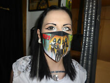 Heavy Metal Mund und Gesichtsmaske Behelfsmaske Waschbar Baumwolle Love Gun