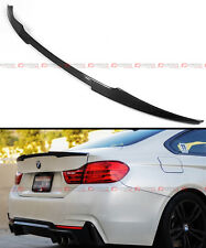 2013-17 BMW F32 4 SERIES M4 LOOK STYLE CARBON FIBER TRUNK BOOT LID SPOILER WING