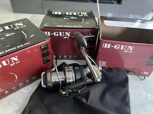 3 X Nash Tackle BP-10 Fast Drag Big Pit Reel H-Gun Fishing reel