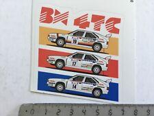 Sticker / Aufkleber, Citroën BX 4TC Rallye