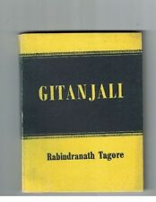 Gitanjali by Rabindranath Tagore w Yeats Intro Eng Text Printed in India 1913-16