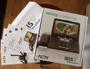 ACN Iris WG4K Video Digital Phone Service Phone Home Office Business Networking