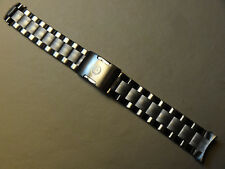 New Timex T49826 Expedition Field Analog Digital 20mm Gun Metal Steel Watch Band