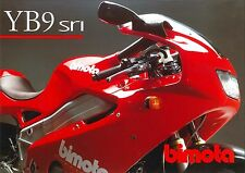 Brochure originale Bimota YB9 SRI ORIGINAL BROCHURE
