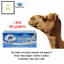 1 Box Original Pure Camel Milk Powder Abu Dhabi Packet Drink High Calcium