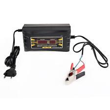 [UK]12V 6A Lead-acid LCD Display Battery Charger EU Plug Adapter Motorcycle Car