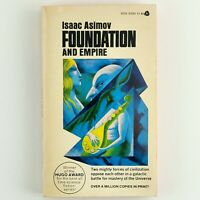 Foundation and Empire by Isaac Asimov Classic Sci Fi Vintage 1966 Paperback