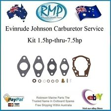 A1 Carburetor Service Kit Evinrude Johnson OUTBOARD 1 5hp-7.5hp 439071