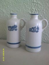 Pfaltzgraff - Yorktowne Oil & Vinegar Jugs --  Castle Mark