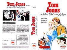 """VHS - """" Tom JONES zwischen Bett und Galgen  (1963) Albert Finney - Susannah York"""