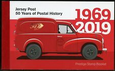 JERSEY 2019 JERSEY POST 50 YEARS OF POSTAL HISTORY PRESTIGE BOOKLET MINT NH