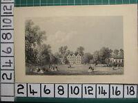 1851 Antico London Stampa ~ Kew Palazzo