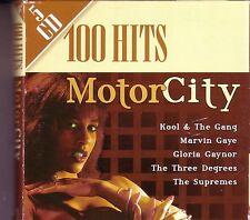 100 Hits MOTOR CITY 5CD Box Classic R&B JIMMY RUFFIN MARVELETTES CHI-LITES