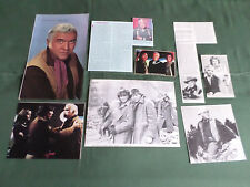 LORNE GREEN -TV / FILM STAR - CLIPPINGS-CUTTINGS PACK