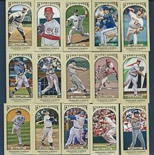 Finish Your 2011 2012 Topps Gypsy Queen Mini Set U PICK 16 Mantle Maris Stanton