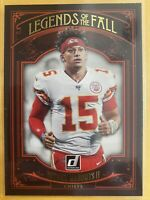 2020 Donruss Legends of the Fall #16 Patrick Mahomes II Chiefs