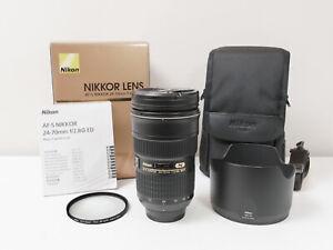 Nikon AF-S 24-70mm F2.8 G ED Full-frame NIKKOR Lens  ~Excellent Condition