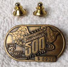 Indianapolis 500 1996 Bronze Pit Badge