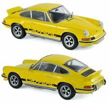 NOREV Porsche 911 Carrera RS Touring 1973 1/43 Voiture - Jaune