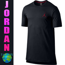 Men's Size Large Nike Jordan Core Short Sleeve Long Top 749475 010 Black/Red