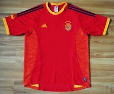 SIZE M SPAIN 2002-2004 HOME ADIDAS FOOTBALL CAMISETA SHIRT RAUL ERA JERSEY