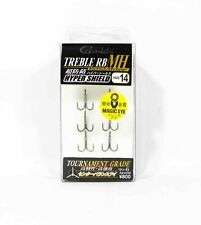 Gamakatsu Treble Hook RB MH Hyper Shield Size 14 ,6 Per pack (6198)