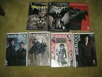3 Batman Graphic Novel DC Lot TPB - 4 comics SHERLOCK TITAN   SERIES SET