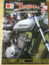 VJMC TANSHA MAGAZINE OCT 2006 ISSUE 5 EBAY FRIEND OR FOE? CALNE MOTORCYCLE MEET