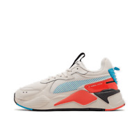 Men's Puma RS-X PTNT Casual Shoes Whisper White/Blue Azure 37229203 100
