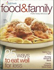 Food & Family Magazine by Kraft Foods - Make Today Delicious - Fall 2009