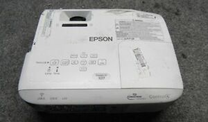 Epson PowerLite Tri-LCD Projector Model #H692A *Tested/Working*