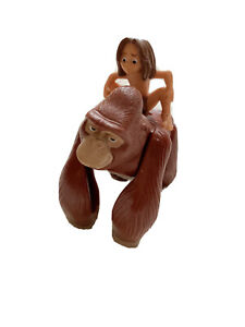 Vtg Disney Tarzan Kala wind up toy Cake Topper Monkey Figure