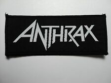 ANTHRAX  LOGO WOVEN  PATCH