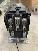 Eaton 40 AMP Definite Contactor C25DNF340 Ser E1 110-120 Volt 3 Pole Pre-Owned