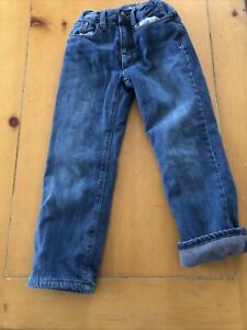 used old navy fleece lined jeans