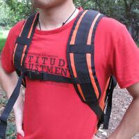 2pcs DIY Waterproof Shoulder Belt Strap Replacement for Backpack Rucksack