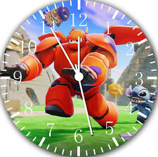"Disney Big Hero 6 wall Clock 10"" will be nice Gift and Room wall Decor E04"