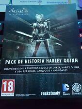 Batman Arkham Knight PS4 DLC pack historia Harley Quiin