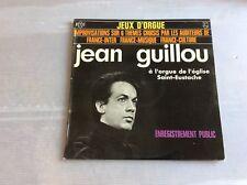 Vinyle 33 tours Jean Guillou à l orgue de l église Saint Eustache