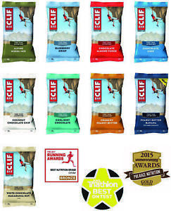 Clif Bar Organic Energy Bars (68g)  8 Flavours - Cycling / Running / Exerc