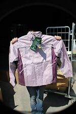 24-20 - Mountain Horse weather protective riding jacket Bluberry plum womens med