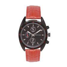Ashton Carter Multi Function Black / Brown Watch - AC-1001-B- 2 Year MANUF WRNTY