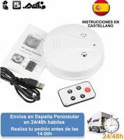 Detector de humos con videocamara camara oculta grabacion espia (Envio express)