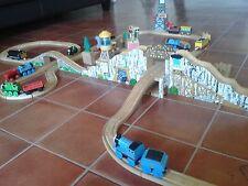 Thomas the tank engine wooden track bulk lot gold mine cranky